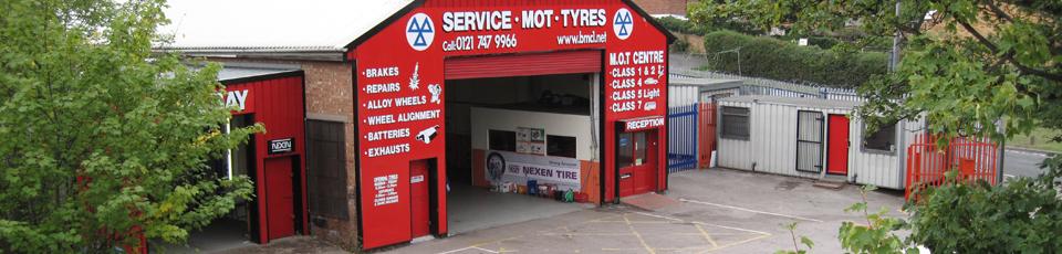BMC Garage