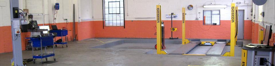 BMC Garage interia