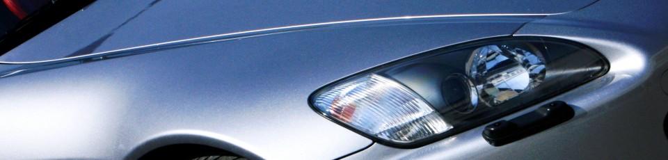 Close-up of a car